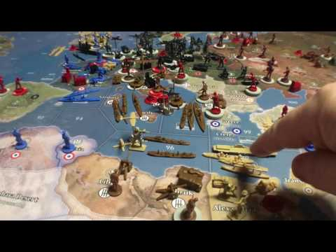 Axis & Allies Global 1940/UK Strategy-Middle Earth