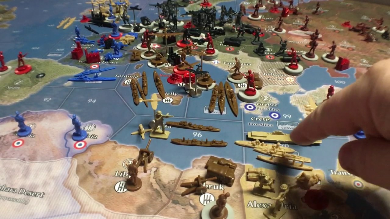 Axis and allies 1942 second edition uk strategy   What strategy