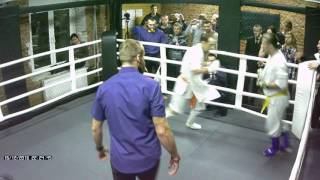 Fight Party in MAD MAX DOJO - Киокушин - Тарас - Сергей