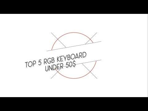 TOP 5 RGB Gaming Keyboard under 50$