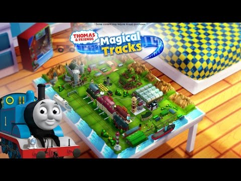 THOMAS & FRIENDS MAGICAL TRACKS | FREE KIDS TRAIN GAME BY BUDGE STUDIOS iOS / Android Gameplay