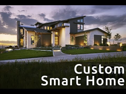 Custom Luxury Smart Home In Colorado