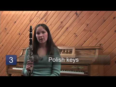 Caring for your clarinet keys