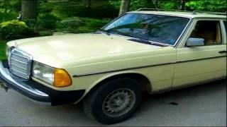 1982 Mercedes-Benz 300TD Turbo Diesel Wagon W123