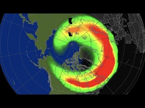 Massive Geomagnetic Storm in Progress - Kp8/SEVERE - Aurora Outbreak!