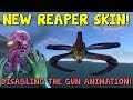 NEW REAPER SKIN IN GAME + DISABLING THE GUN TERMINAL ANIMATIONS! | Subnautica News