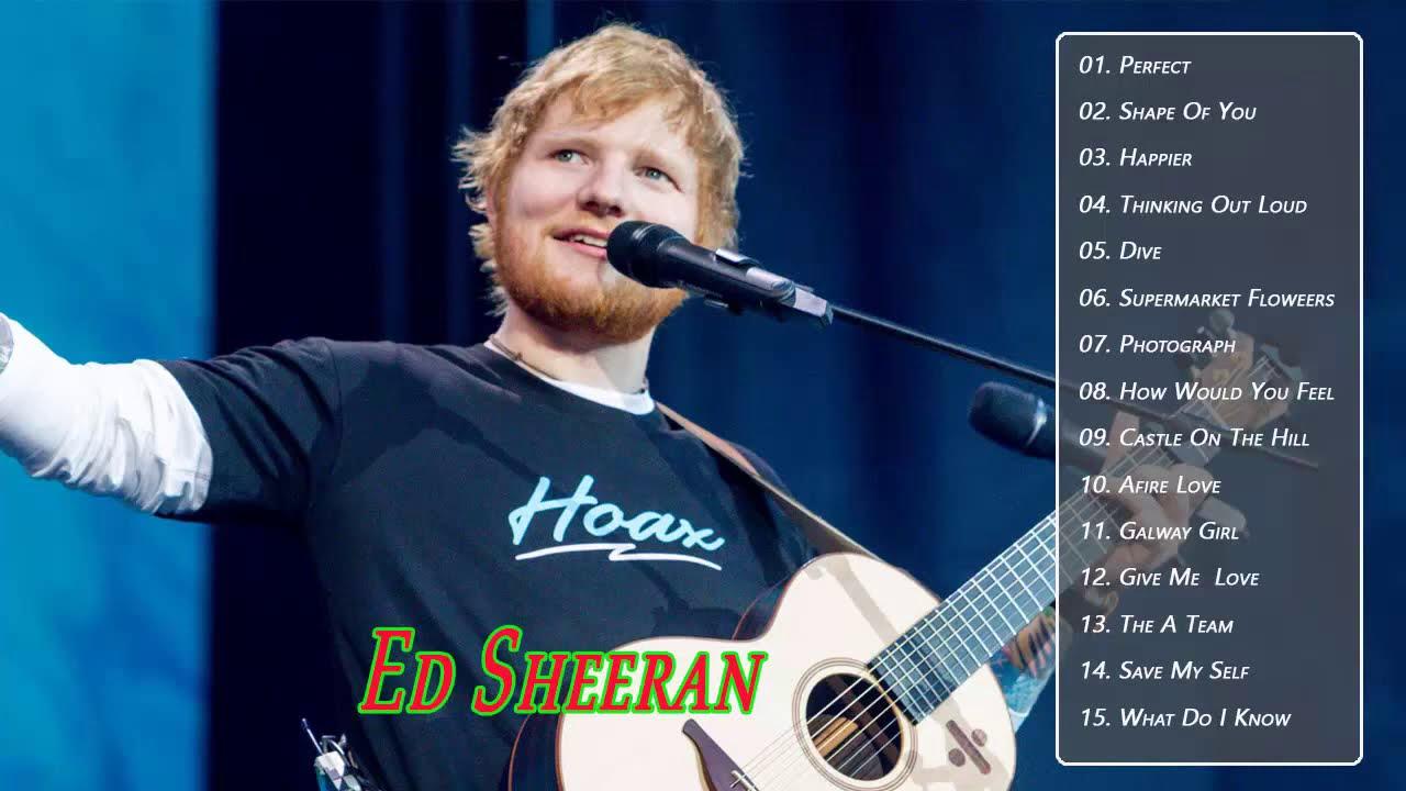 Ed Sheeran Greatest Hits // Ed Sheeran Best Songs // Top Songs Collection 2020