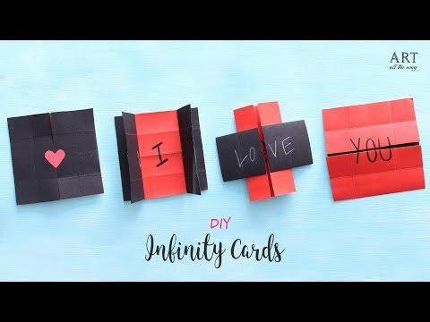 DIY Never Ending Card | Endless Card | Heart Card | Handmade Cards
