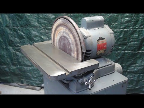Mrpete Goes To A High School Auction Tips 577 Tubalcain DELTA SANDER