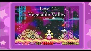 Kirby Nightmare In Dreamland: Level 1 | Vegetable Valley