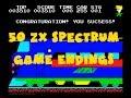 50 ZX Spectrum Game Endings