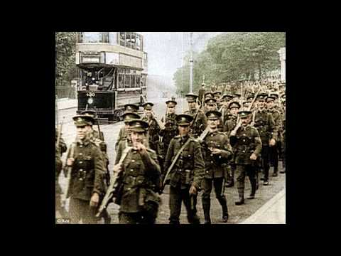 WORLD WAR 1 BATTLES OF WW1 GERMAN FRENCH COLOR COMBAT FOOTAGE WESTERN FRONT 1914 ARMY TACTICS PART 1
