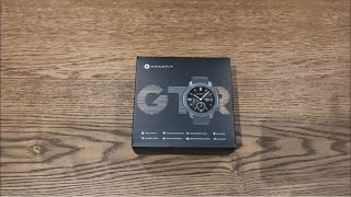 Amazfit GTR 42mm - Very good and beautiful smartwatch