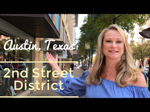 2nd Street Shopping, Downtown Austin | Kim Wilkin, Austin Realtor ®