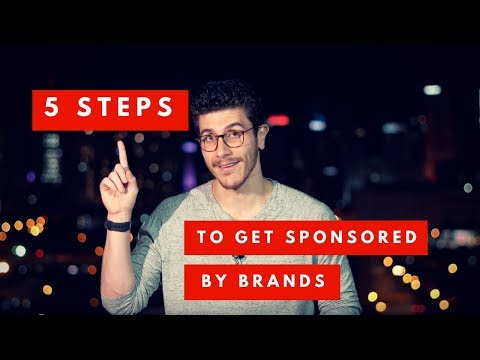 5 Steps To Work with Brands and Get Sponsored FET. THENX