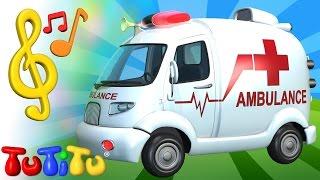 Canciones para niños en Ingles con TuTiTu | ambulancia | Aprender inglés para niños y bebés