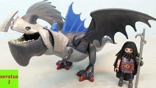 Playmobil Dragons Drago mit Donnerklaue 9248 auspacken seratus1