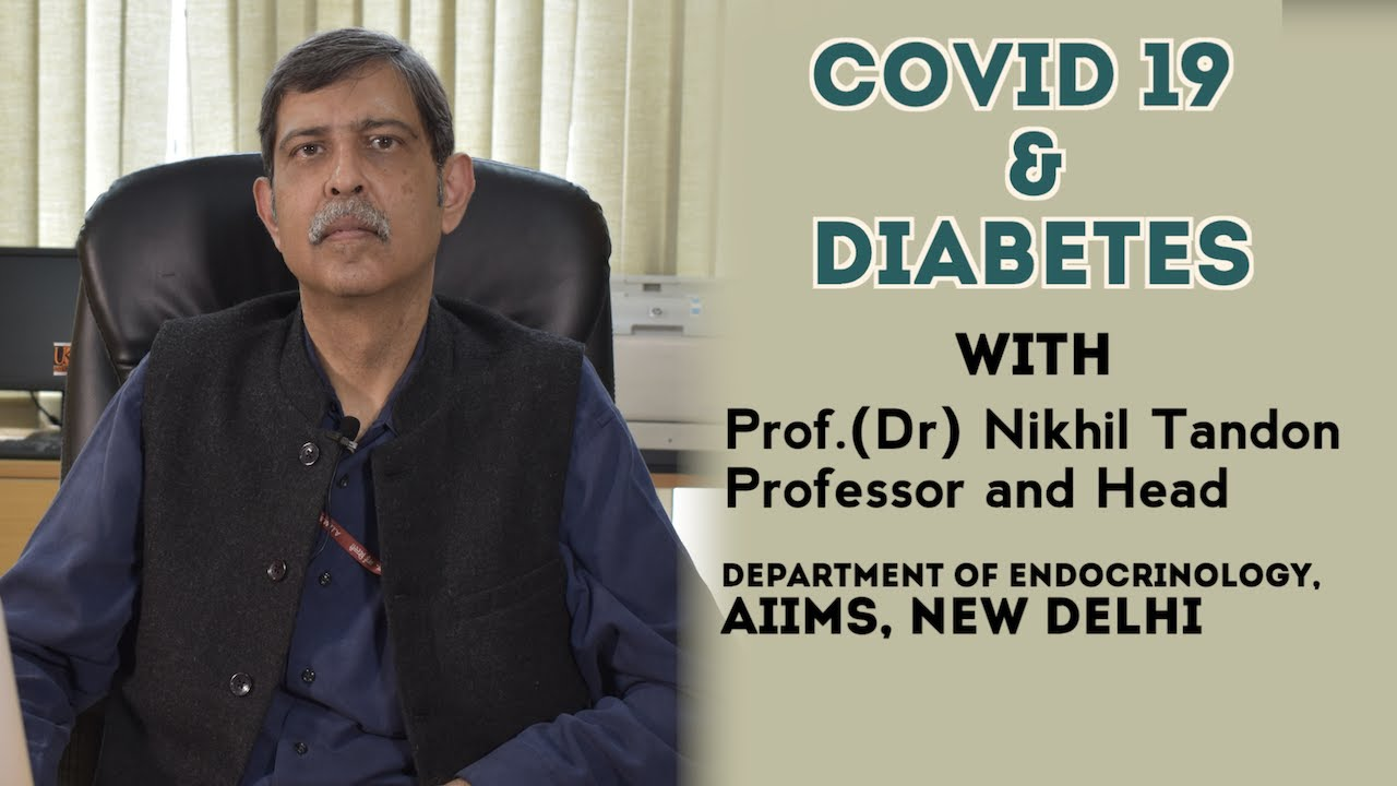 Coronavirus and Diabetes by Dr. Nikhil Tandon (AllMS) || Hindi, Malayalam & Telugu || 1mg