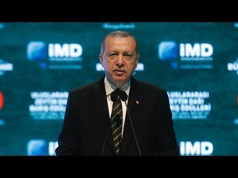 Cumhurbaşkanı Erdoğan, Zeytindağı Barış Ödülleri Töreni'nde konuştu