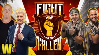 AEW Fight for the Fallen Review | Wrestling With Wregret