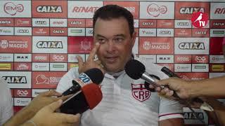 Coletiva do Treinador Roberto Fernandes / CRB X Figueirense