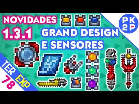 Grand Design, Sensores, Actuator Rod e mais! • Nova 1.3.1 2/3 • Terraria Expert #78