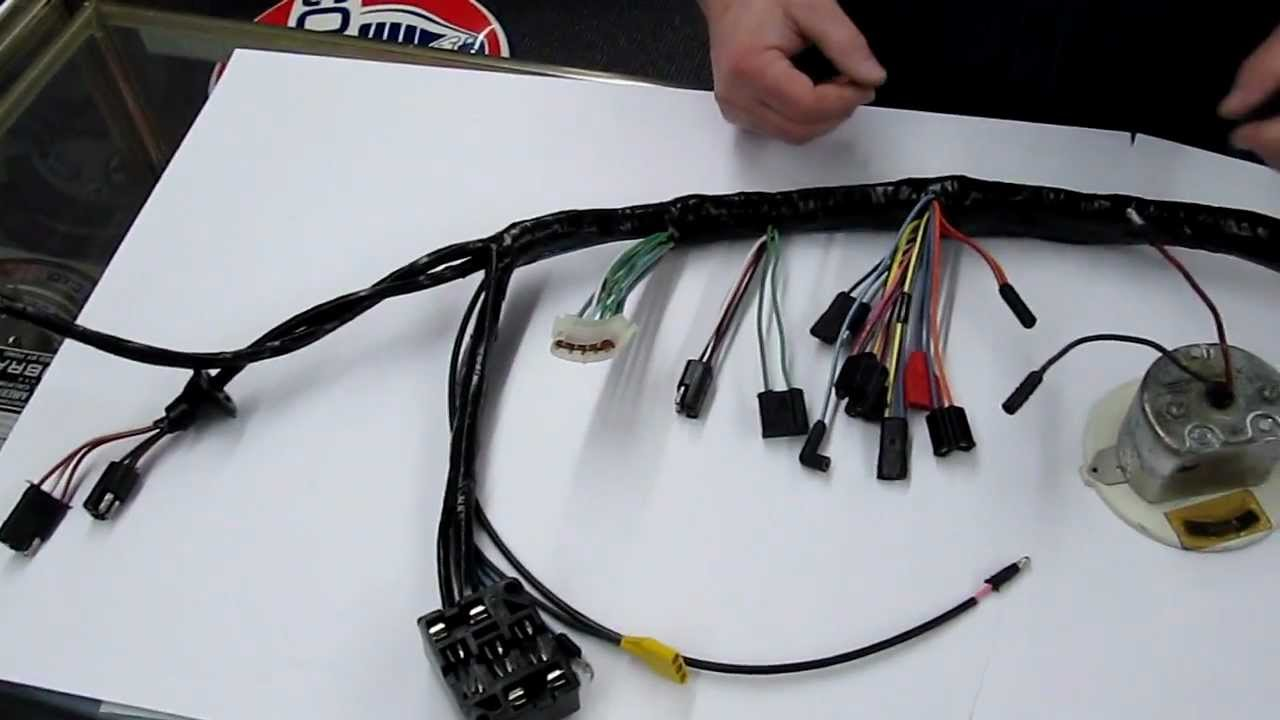 How To Hook Up A Tachometer On 196768 Mustang or Shelby  YouTube