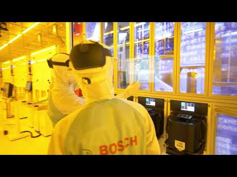 Bosch wafer fab Dresden: Welcome to the factory of the future