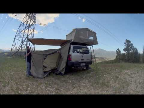 Setting Up ARB Awning Room
