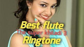 The super khiladi 3 || Nenu sailaja || Best flute ringtone|| Best south Indian flute ringtone