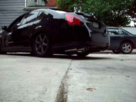2005 maxima ebay catback exhaust by jimmy kane