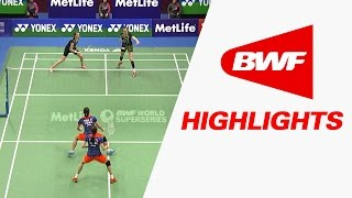 Yonex Sunrise Hong Kong Open 2015 | Badminton QF – Highlights