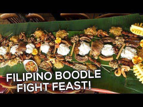 HUGE BOODLE FIGHT FEAST! | Filipino Feast At Manila Bay Ihaw Ihaw