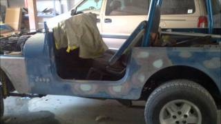 Making Your Own Jurassic Park Jeep Part 8.wmv