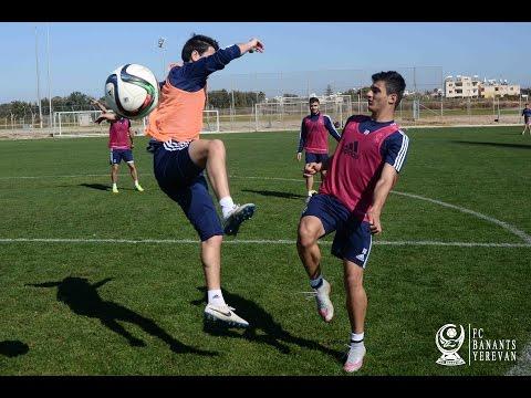 Banants Training In Cyprus. 19.02.2016
