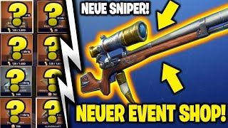 💥 EVENT SHOP UPDATE: NEW SNIPER & FREE UPGRADE LAMAS! 😍 FORTNITE