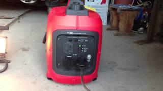 видео Бензиновый генератор Fubag TI 2000