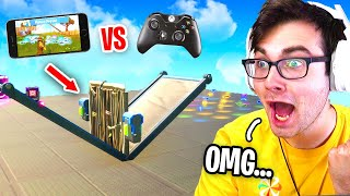 I Hosted a MOBILE vs CONSOLE Tournament for $200 in Fortnite... (who is better?)