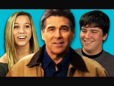 Teens React to Rick Perry