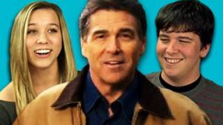Teens React to Rick Perry's Strong