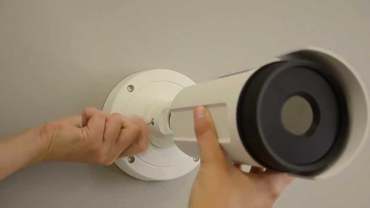 схема подключения видеокамер на большом расстоянии