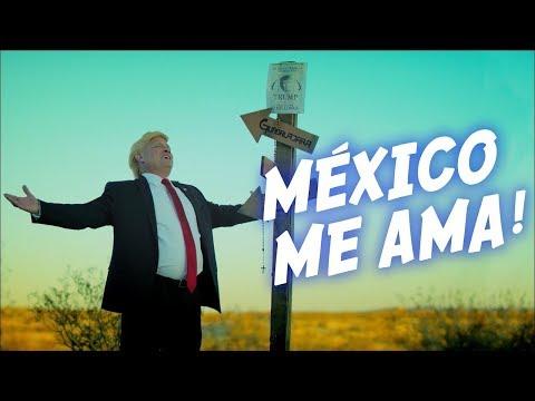 TRUMP LLEGO A MEXICO A PARAR PREMIOS DE LA RADIO