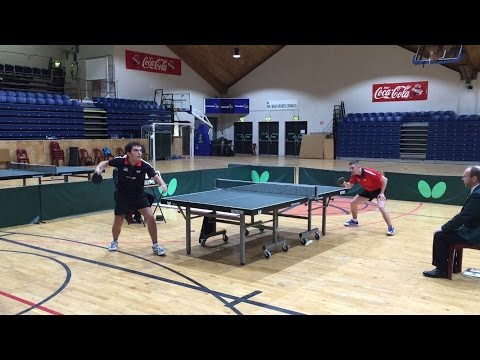 Paul McCreery vs. Ashley Robinson, 2015 Butterfly Irish National Championships - Men's Final
