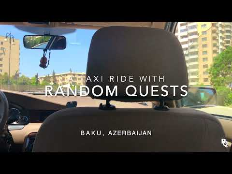 Taxi Driving   BAKU, Azerbaijan 🇦🇿 #6 - [Music Prod. by Zeeky Beats]