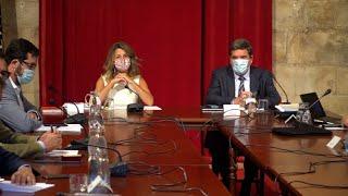 Díaz y Escrivá confían en alcanzar un acuerdo definitivo sobre los ERTE
