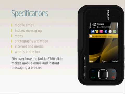 NOKIA 6760 WATCH FULL FEATURES AND SPECIFICATIONS