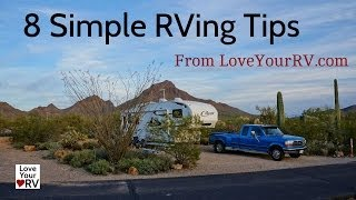 8 More Simple RVing Tips From a Full Time RVer
