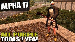 ALPHA 17 | TRIPLE STORAGE POCKETS | 7 Days to Die Alpha 17 Gameplay | S17.3E27