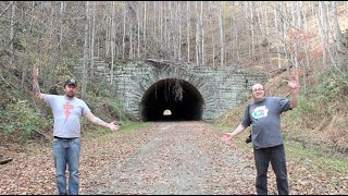 The Road To Nowhere - ABANDONED Mountain Tunnel