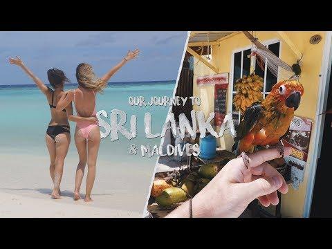 SRI LANKA & MALDIVES   TRAVEL VIDEO (GO PRO - 4K)